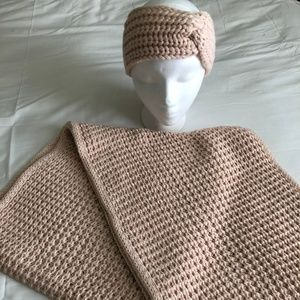 LOFT Knitted Infinity Scarf & Head Wrap